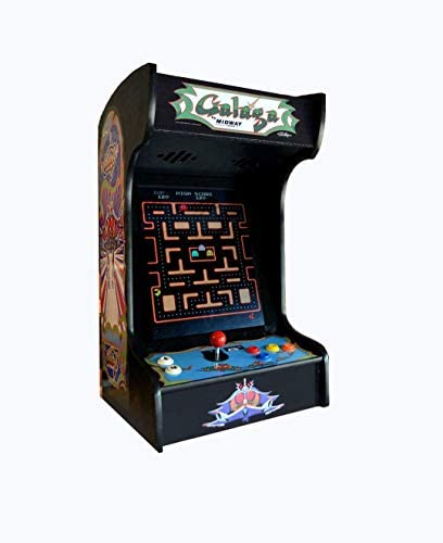 Doc and Pies Arcade Factory Classic Home Arcade Machine Tabletop and Bartop 60 Retro Games Full product image