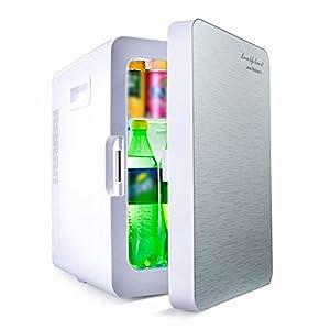 WUQIAO Mini réfrigérateur Portable 20L Voiture Utilisation à Domicile Refroidisseur Plus Chaud contrôle de température à Double Usage 12 V / 220 V