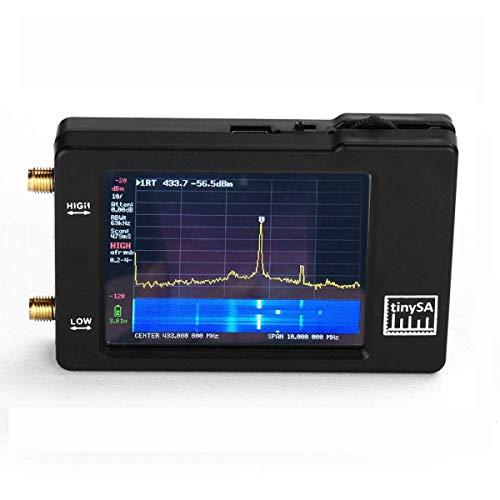 ytrew TinySA 2.8 Analizador de espectro, 100kHz a 960MHz, analizador de espectro...