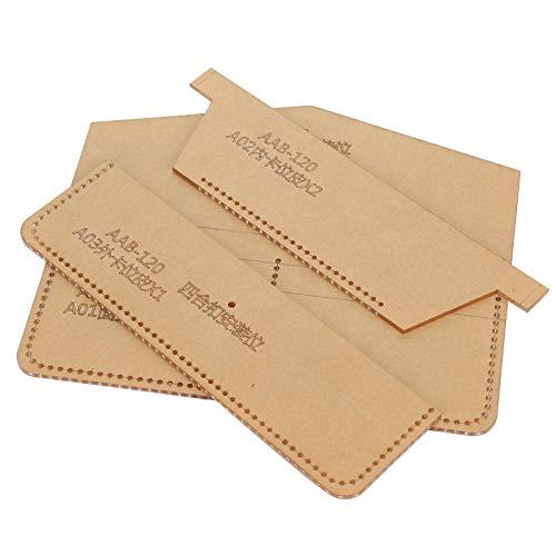 Hochwertige Beständigkeit gegen Langzeitdruck, Acryl-Schablone, für DIY-Lederhandwerk, Lederwerkzeuge