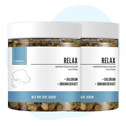 Canobel Relax - Natürliches Beruhigungsmittel für Hunde - 2 x 300 g