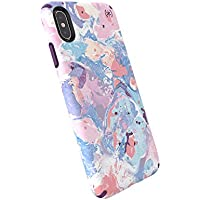 Speck Presidio Inked iPhone Xs Max Cases Resort Marble/Hyacinth