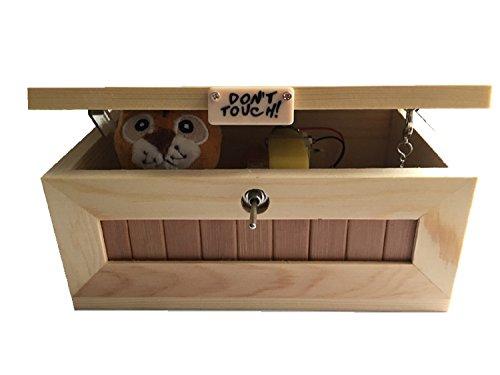 H-Mastery Karikatur-kreative Tiger nutzlose Kisten Freunde und Kinder lustige Spielwaren, hölzerne Kinder Spielen, Witzmittel (grundlegende Modelle)