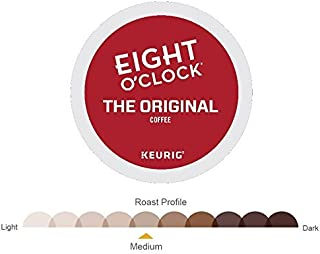 Eight O'Clock Coffee Keurig Single-Serve K-Cup Pods, The Original Medium Roast Coffee (Original, 108 Count)