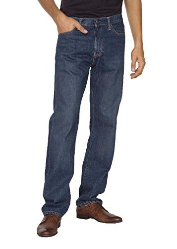 Levi's Jeans 504 Regular Straight Fit Denim Scuro W34L34