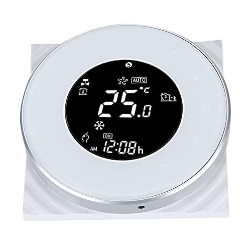 Okuyonic Termostato, Pantalla táctil LCD Termostato de Pantalla LCD Calefacción de Suelo Controlador de Temperatura WiFi Comodidad para el hogar