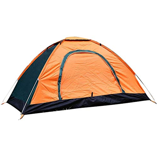 BASOYO Outdoor Camping Tent Tent Automatic Pop Up 1 and 2 Person Waterproof Tent Sun Shelters Easy Setup Tent for Outdoor Camping Picnic Hiking Fishing