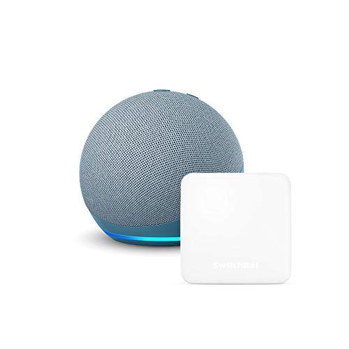 【セット買い】Echo Dot (第4世代) トワイライトブルー + スイッチボット Hub Mini スマートリモコン