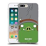 Head Hülle Designs Offiziell Zugelassen Angry Birds Corporal Pig Volles Gesicht Soft Gel Handyhülle Hülle Huelle kompatibel mit Apple iPhone 7 Plus/iPhone 8 Plus