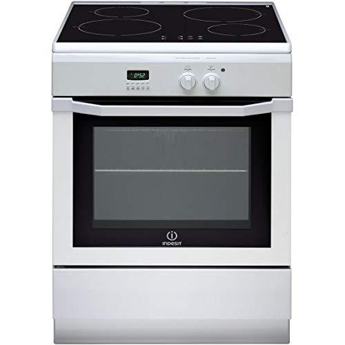 Indesit I64I 6C6A(W) Cuisinière A Blanc - Fours et cuisinières (Cuisinière, Blanc, Rotatif, Devant, Electrique, 58 L)