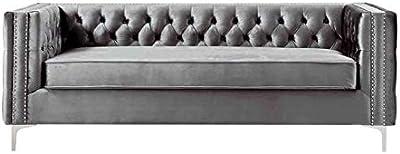 Amazon.com: Iconic Home FSA2610-AN - Sofá de metal, color ...