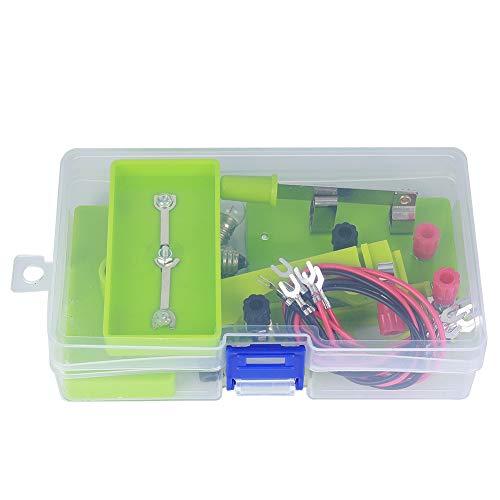 Kit de Aprendizaje de Circuito para niños, Serie de experimentos de Circuito eléctrico de Bricolaje y Circuito Paralelo para Aprendizaje de Circuito de Principiante(Circuito Paralelo en Serie)