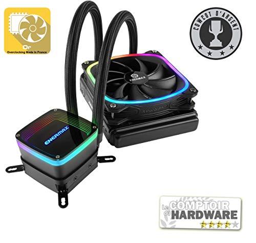 Enermax Aquafusion 120 - Ventilador para CPU Negro Negro 120 mm