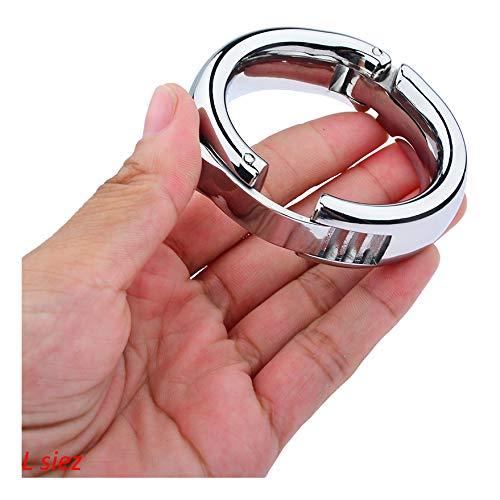 Doc Mao Junta tórica de Metal Multiusos Ajustable (L siez) Plata, Acero Inoxidable