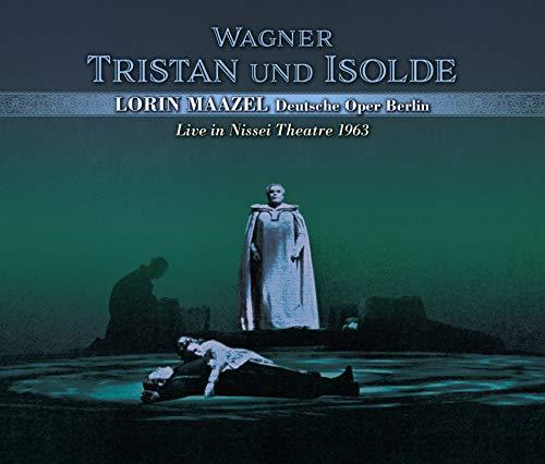 ベルリン・ドイツ・オペラ 日生劇場 1963 ~ ワーグナー : 楽劇 「トリスタンとイゾルデ」(全曲) (Wagner : Tristan und Isolde / Lorin Maazel | Deutsche Oper Berlin ~ Live in Nissei Theater 1963) [3CD] [Live Recording] [国内プレス] [日本語帯・解説付]