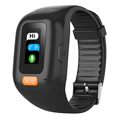 FZXL S3 Smart Pulsera Long Standby Hombres Mayores Estudiantes SOS Relojes para iOS Android Tarifa Cardíaca Pedómetro De Presión Arterial GPS Tracker Watch