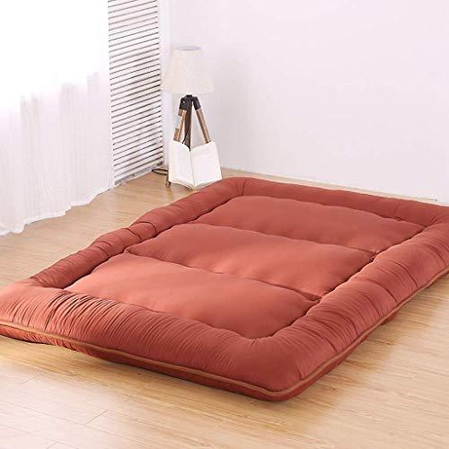 BONAE Tradicional japonés Que Colchones de futon, Lana de pulir Colchón Tatami Plegable Estera de meditación Ultra Soft Espesar Futon colchón -,X,180 * 200cm