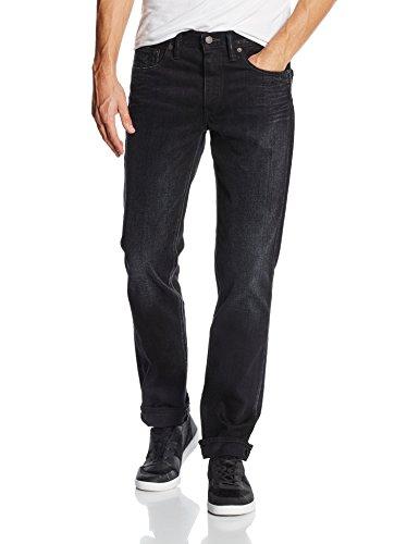 Levi's 511 Slim Fit Jeans, Nano Black, 32W / 34L Uomo