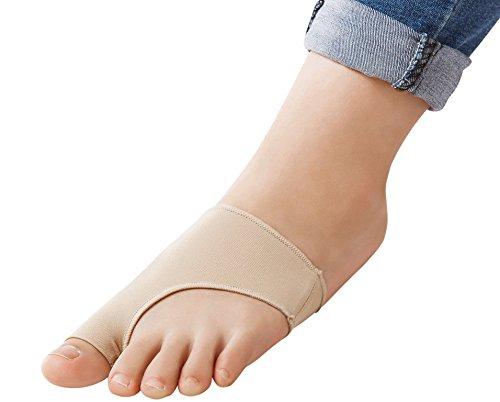 Hallux Valgus | Großzehen | Hammerzehen Schutz Gel Pad Socken | 2 Stück (S)