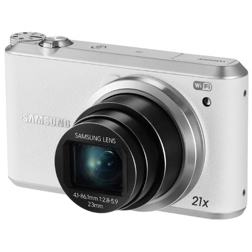 Samsung WB350F 16.3MP CMOS Smart WiFi & NFC Digital Camera with 21x Optical Zoom and