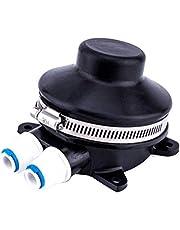 Xpccj Bomba de sentina para pies, bomba de pie manual, compacta, bomba de pie de agua dulce, 12,5 x 9,5 x 7 cm