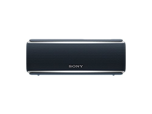 Sony SRS-XB21 Altoparlante Wireless Portatile, Extra Bass, Bluetooth, NFC, Resistente all'Acqua IP67, Batteria 12 ore, Funzione Live, Nero