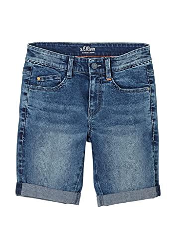 s.Oliver Jungen Slim Fit: Bermuda aus Jeans blue 170.REG
