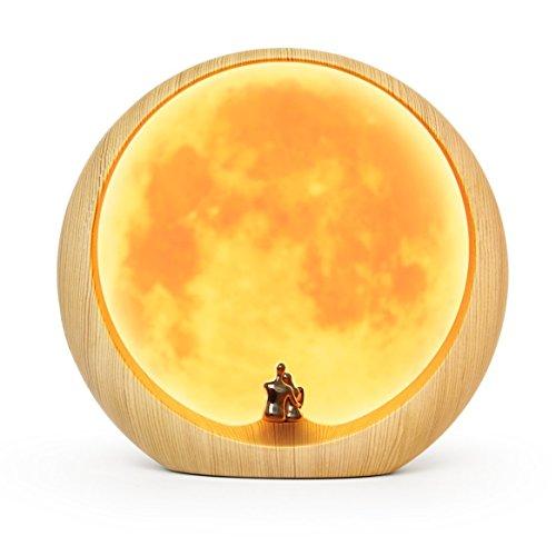 ホワイトデー プレゼント 月のランプ 月の恋人 インテリアライト 満月 188x 202mm 間接照明 表面に字が書け...