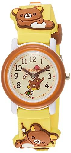 [サンフレイム] 腕時計 サンエックス SX-V01-RK ガールズ イエロー