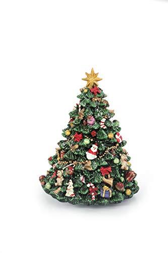 albero di natale jingle bells MAXIM BOLZANO SRL Albero Natale Carillon Movimento e Musica Jingle Bells