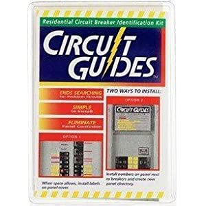 """""""Circuit Guides"""" Kit. You Get 149 Identifier Labels – Plus a Circuit-Breaker Directory for Inside the Panel Cover"""