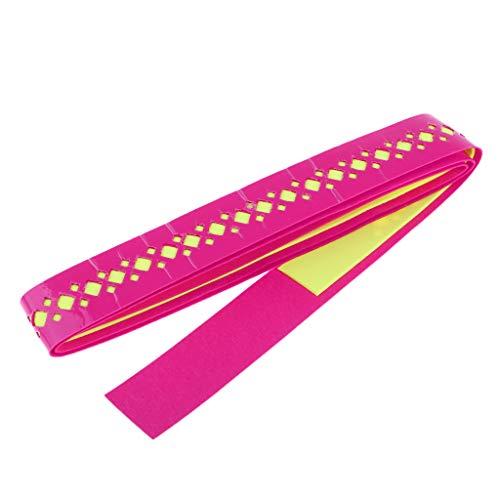 T TOOYFUL Atmungsaktiver Tennisschläger Overgrips Badminton Tennis Griffband Sport Angelrute - Rosa