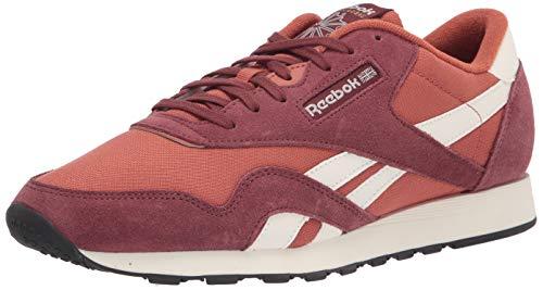 Reebok Classic - Zapatillas de Nailon para Hombre, Color Rojo, Talla 44.5 EU