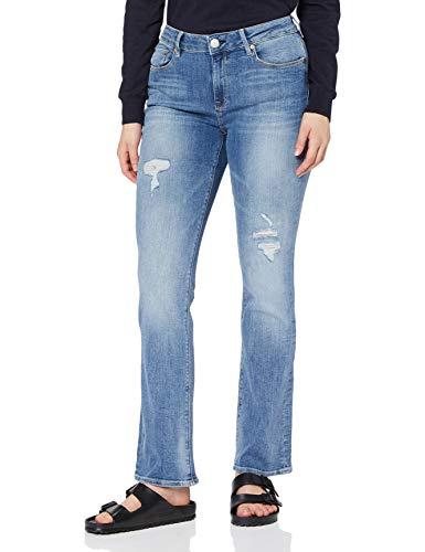 Herrlicher Super G Boot Denim Stretch Jeans, Blend Destroy 714, 24W x 30L Femme