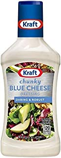 Kraft, Chunky Blue Cheese Dressing, 16oz Bottle (Pack of 3)