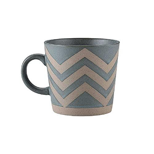 Taza de cerámica retro simple de la oficina taza de té de la pareja de la taza de agua del hogar de la taza de café