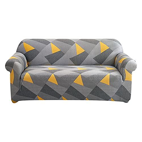 MKQB Funda de sofá elástica elástica para decoración del hogar, Moderna Funda de sofá en Forma de L para Sala de Estar, Funda de sofá Antideslizante con protección para Mascotas NO.13 S (90-140cm