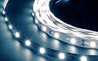 LED-HUB 高品質LEDテープライト(DC12V) SMD2835タイプ 60leds/m 白色(6000K)/高演色Ra80+/非防水/納品後3ヶ月保証/50cmから500cmまで長さの選択が可能 (300cm)