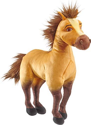 Schmidt Spiele 42700 DreamWorks - Peluche a Forma di Cavallo, 35 cm, Multicolore
