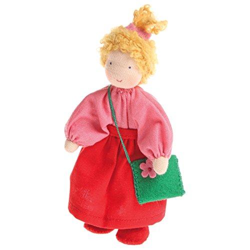 Grimm's Puppenhauspuppe Mädchen blond