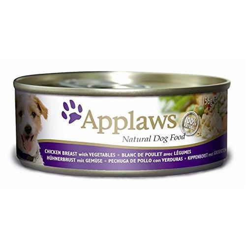 Applaws Dose Hühnerbrust und Gemüse, 12er Pack (12 x 156 g)