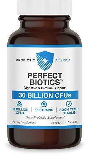 Probiotic America® Perfect Biotics 30 Billion CFUs Digestive & Immune Support Supplement, 30 Count