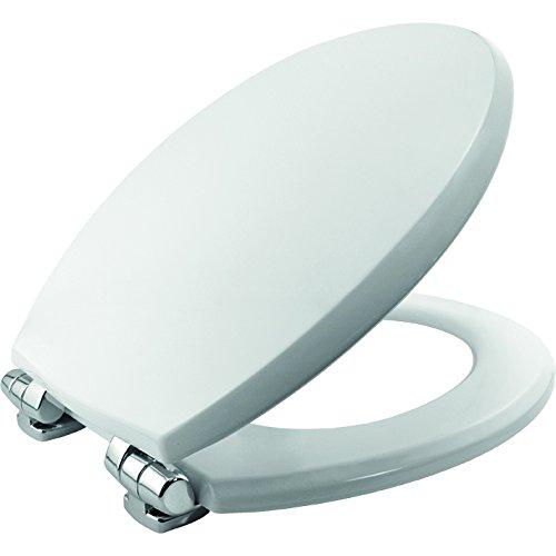 Denver STA-TITE universele toiletbril met zachte sluiting, wit