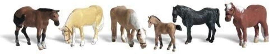 Woodland Scenics Farm Horses HO Scale