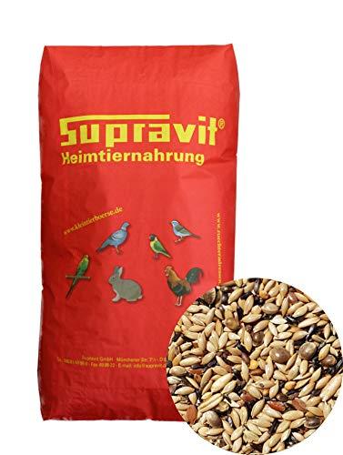 Supravit Kanarienfutter ohne Rübsen 25 kg - Futter für Kanarienvögel aller Arten wie Waterslager & Harzkanarien