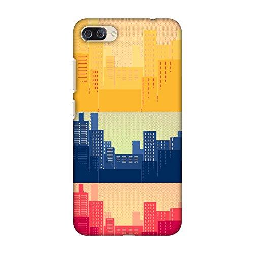 AMZER Slim Designer Snap On Hard Case for Asus Zenfone 4 Max ZC554KL - Colombia Flag- Cityscape