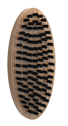 Tombstone Beard Brush - Wood with Soft Synthetic...
