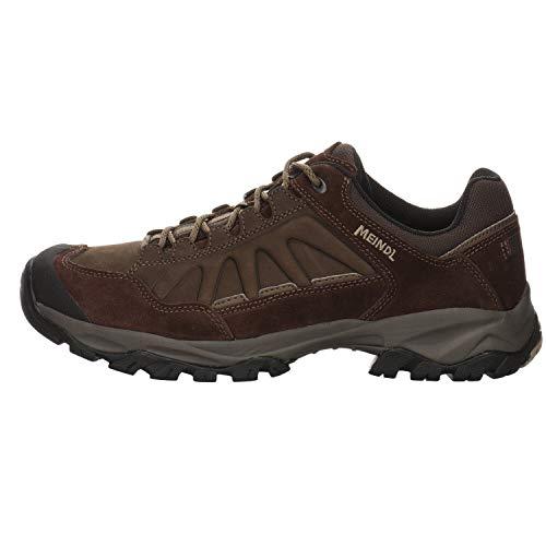 MEINDL Herren Nebraska (XL) Trekking- & Wanderhalbschuhe Grau (Mahagoni 39) 43...