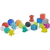 Infantino 20-Pieces Sensory Balls Blocks & Buddies Set