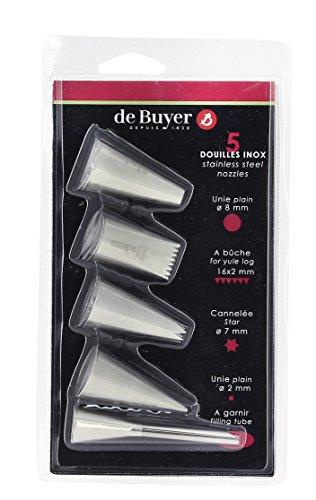 De Buyer -2114.05 - Blíster de 5 boquillas surtidas